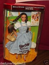 HOLLYWOOD LEGENDS BARBIE AS WIZARD OF OZ DORTHY SPECIAL EDITION NEW IN BOX