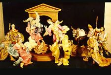 NEW Franklin Mint THE VATICAN NATIVITY Set 12 Pcs Porcelain 24k Exquisite $3,000