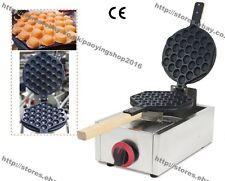Commercial Nonstick LPG Gas Egg Waffle Maker Hongkong Eggette Baker Machine Iron