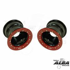 Suzuki LTZ 400 LTR 450  Rear Wheels  Beadlock  9x8 3+5 4/110  Alba Racing  B/R
