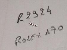 Rolex balance staff 170  MB667  axe de balancier / Unruhwelle Ronda 2924