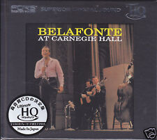 """Belafonte at Carnegie Hall"" Japan UHQCD HQCD Audiophile CD Limited Numbered New"