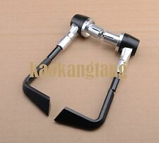 Silver Brake clutch levers guard bar end for SUZUKI GSF 400 600 1200 1250 BANDIT