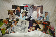 Large Lot of Princess Diana Magazines, 1997, Including Hello, Photos by Mirror