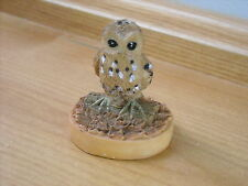 OWL - TETLEY TEA WILDLIFE FIGURINE