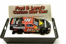 Custom Lype HO Slot Car Die Cast Body Marchon MR1 Chassis Biffle Ford Taurus #16