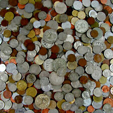 1 POUND LOT  WORLD COIN GRAB BAG FORIEGN COINS