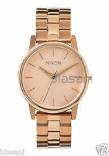 Nixon Original Small Kensington A361-897 All Rose Gold 32mm Watch