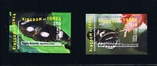 Tonga - 2015 - Butterflies Set - EMS Rate Postage Stamp Mini-sheet Issue