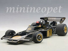 AUTOart 87328 LOTUS 72E 1973 EMERSON FITTIPALDI #1 WITH FIGURE 1/18 MODEL BLACK