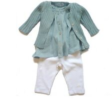Tocoto Vintage Spanish Baby Girl Outfit Top and Bottoms 9 Months