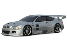 HPI BMW M3 GT PAINTED BODYSHELL SILVER