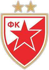 "FK Crvena Zvezda FC Serbia Football Soccer Car Bumper Window Sticker Decal 4""X5"""