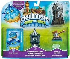 Skylanders Swap Force Tower of Time BATTLE HAMMER SKY DIAMOND POP THORN NISB