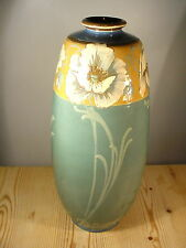 Mintons Art Nouveau Tall Poppies Vase