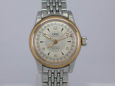 35mm BIG Swiss Oris Big Crown Pointer Date Gold/SS auto bracelet dressing watch