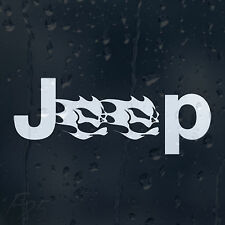 Funny Jeep Skull Car Decal Vinyl Sticker Bumper Window Panel