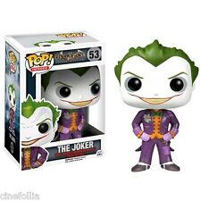 Figura vinile The Joker Batman Arkham Asylum Pop! Funko heroes Vinyl Figure 53