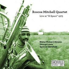 Live At A Space 1975 - Roscoe Mitchell (2013, CD NEU)