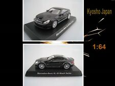 AMG Mercedes-Benz SL 65 Black Series in schwarz  Kyosho Japan  Maßstab 1:64  OVP