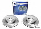 TA Technix Sports Brake Discs Front Axle slotted holes interior vented (BS2907P)