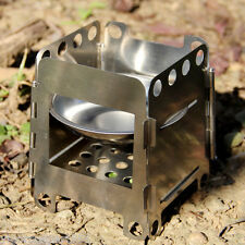 Folding Wood Stove Pocket Alcohol Stove Outdoor Cooking Camping Backpacking RK10