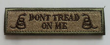 Don't Tread On Me Tactical Patch Multitan 3.75 inch velcro PATCH 1PC   SJK  278