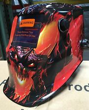 MSR New Auto Darkening Welding/Grinding Helmet cheater-lens-ready