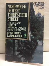 Nero Wolfe Of West Thirty-fifth Street William Baring-Gould Paperback 1983
