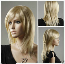 JIAFA544  new Stylish blonde straight hair wigs for women wig