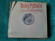 MONTY PYTHON Contractual Obligation Album 17 Track With Inner Sleeve (cas1152)