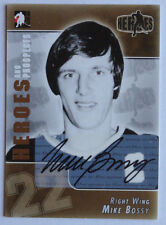 2004-05 ITG Heroes and Prospects Autograph Mike Bossy New York Islanders Auto