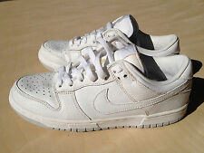 Nike Dunk Low Pro 8 White Neutral Grey Sb Force Air Preowned Basketball 90s