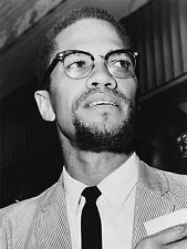 PRINT POSTER PHOTO PORTRAIT CIVIL RIGHTS HERO MALCOLM X NATION ISLAM NOFL0394