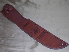 GENUINE KA BAR USMC MARINES HUNTING BOWIE KNIFE SHEATH CASE !!!