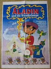 Filmposter * Kinoplakat * A1 * Aladin und die Wunderlampe * EA 1975