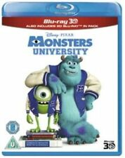 MONSTERS UNIVERSITY  - 3D - BLU RAY - NEW / SEALED