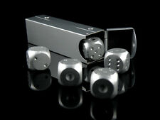5 Aluminum Engraved Metal Dice Case XMAS GIFT SOUVENIR Party Game Free Shipping