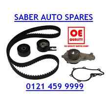 TIMING / CAM BELT KIT & Pompa Acqua Per PEUGEOT 206 1.4 HDI DIESEL 02 -