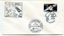 1989 Base Lacement Kourou Arianespace ESA Olympus V 32 Telecom 1 Francaise SPACE