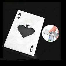 Playing Card Ace of Spades Poker Home Bar Tool Bottle Soda Beer Cap Opener Gift
