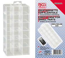 Leer-Kassette für Kleinteile Kleinteilebox Kleinteilemagazin Sammelkasten Box