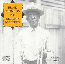 Bunk Johnson 1944: Second Masters by Bunk Johnson (CD, 1992, American Music)