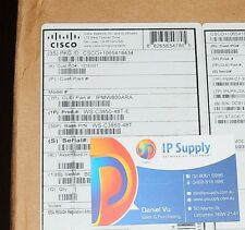 *Brand New* CISCO WS-C3850-48T-E Switch 48xGE 6MthWtyTaxInv