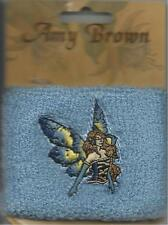 AMY BROWN fairy/blue 2005 SWEATBAND official merchandise IMPORT