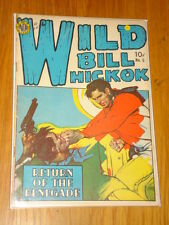 WILD BILL HICKOK #5 VG (4.0) AVON COMICS PAINTED COVER OCTOBER 1950