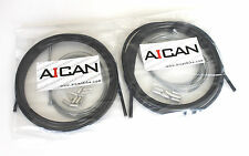 Aican Bike bicycle Shift Derailleur Road cable housing set kit vs Jagwire, Black