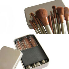 New Cosmetic 7pcs/Set Brush Pro Powder Foundation Eyeshadow Makeup Brushes Tool