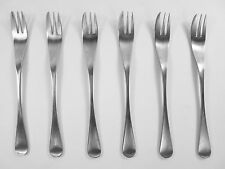 """OLD HALL Cutlery - ALVESTON Pattern - Set of 6 Pastry / Cake Forks - 6 1/2"""""""