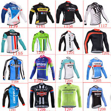 2016 UK1B New team Cycling jersey Road Racing long sleeve,Full Zipper,Polyester